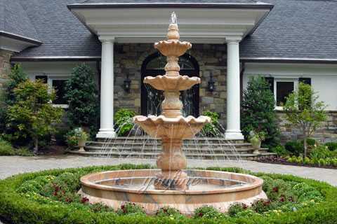 Home depot 3 tiered garden fountain modern design for sale for Home depot garden design