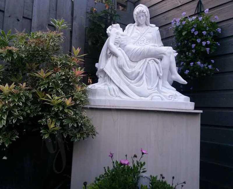 Marble Michelangelo Pieta Sculpture