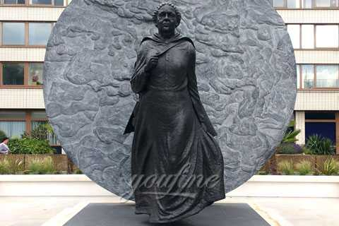UK first black woman memorial statue Mary Seacole statue for hospital