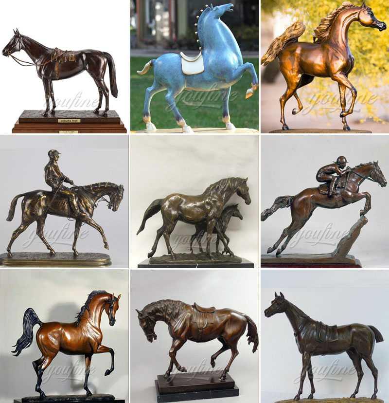 bronze horse figurine