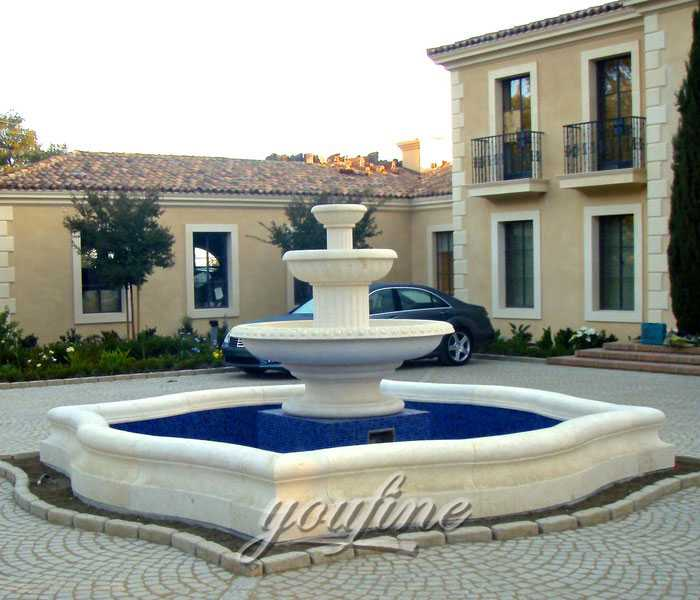 famous marble fountain