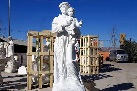 72 inch statue of Saint Anthony