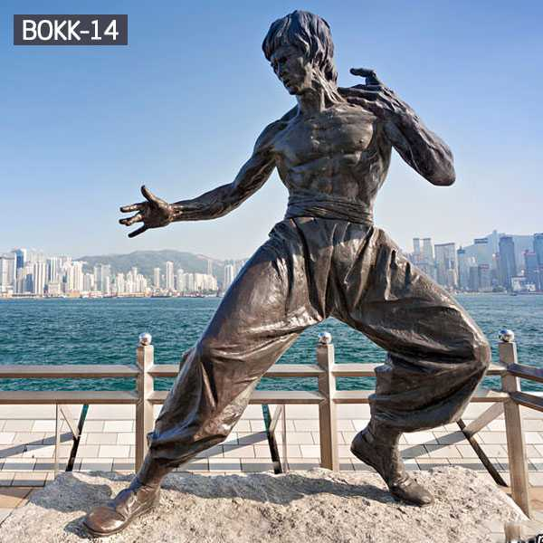 famous bronze bruce statue for sale BOKK-14