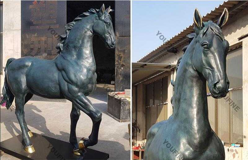 bronze horse art sculpture for sale
