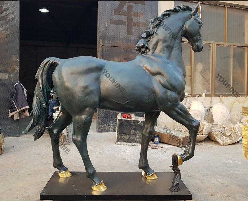 hot cast bronze horse for sale