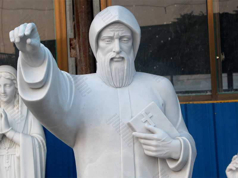 life size catholic statue saint charbel for sale saint statues for the garden