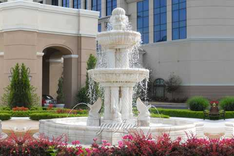 marble tiered water fountain for sale