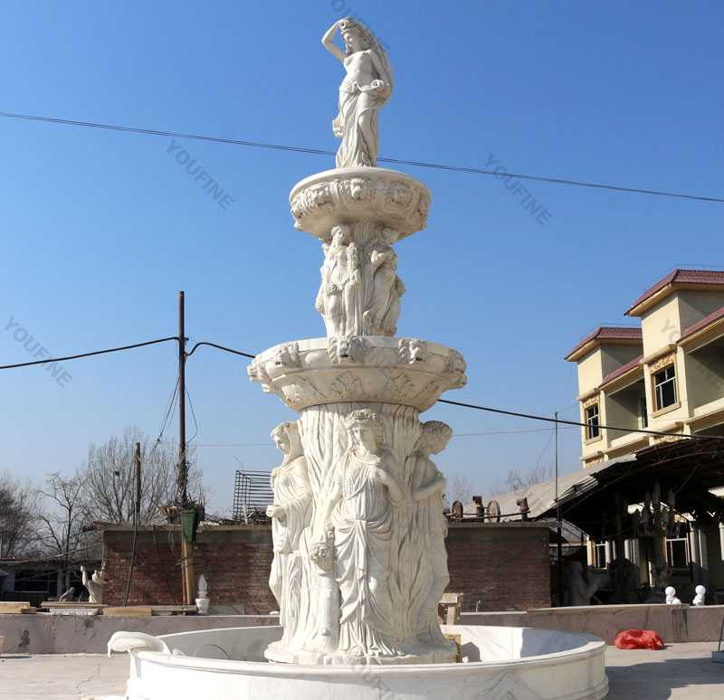Outdoor Large Garden Commercial Fountain Designs For Sale