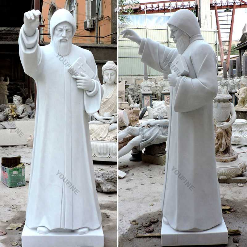 catholic religious statues of st charbel statues