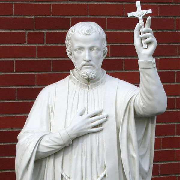 150cm catholic saint statue of st Francis Xavier for sale