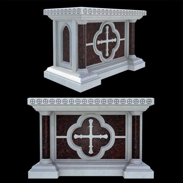Price of luxury marble altar table