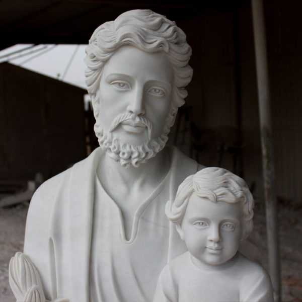 Famous Life Size Catholic White Marble Statue The Father