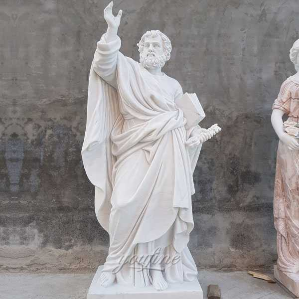 Famous Religious Garden Sculpture of The First Christian Pope Saint Peter Statue for Outdoor Decoration for Sale CHS-361