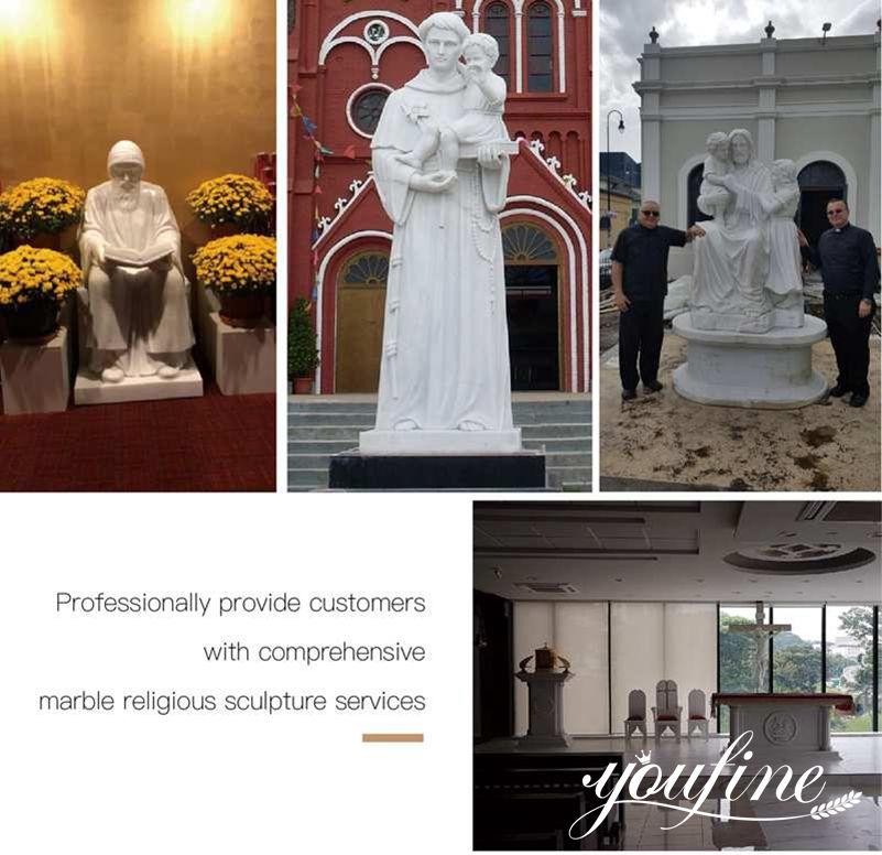 Feedback of Catholic statue