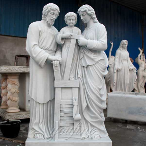 Holy family of mary joseph and baby jesus statues for sale