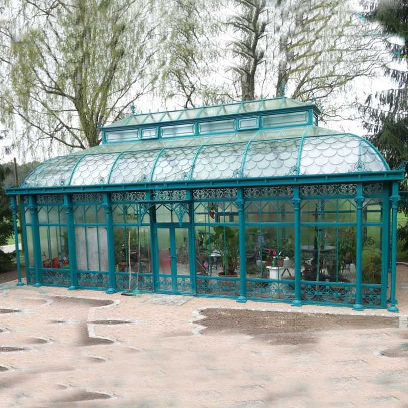 Large outdoor wrought iron gazebo for wedding ceremony on hot selling