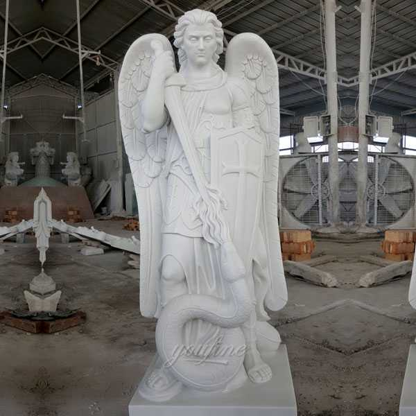 Life Size Famous Catholic Church Statues Archangel of Saint Michael Outdoor Statues for Sale