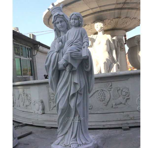 Life Size Famous The National Shrine of the Blessed Mother Our Lady of Good Help Statue for Sale