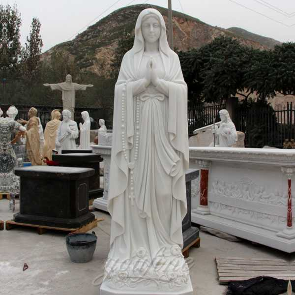 Outdoor Famous Life Size Religious Statue Our Lady of Lourdes Statue for Sale for Garden Decor CHS-264