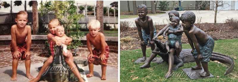 custom statue from photo