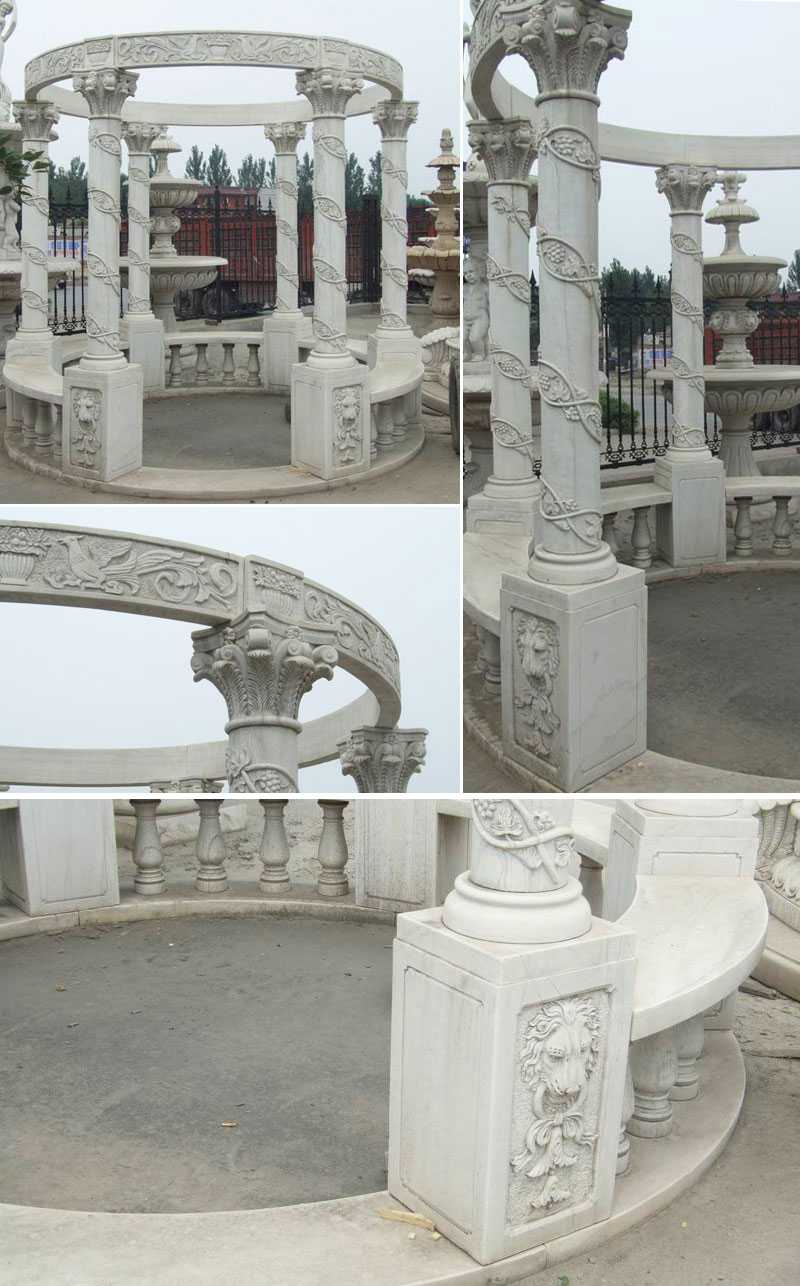 Factory directly supply hand carved outdoor custom made