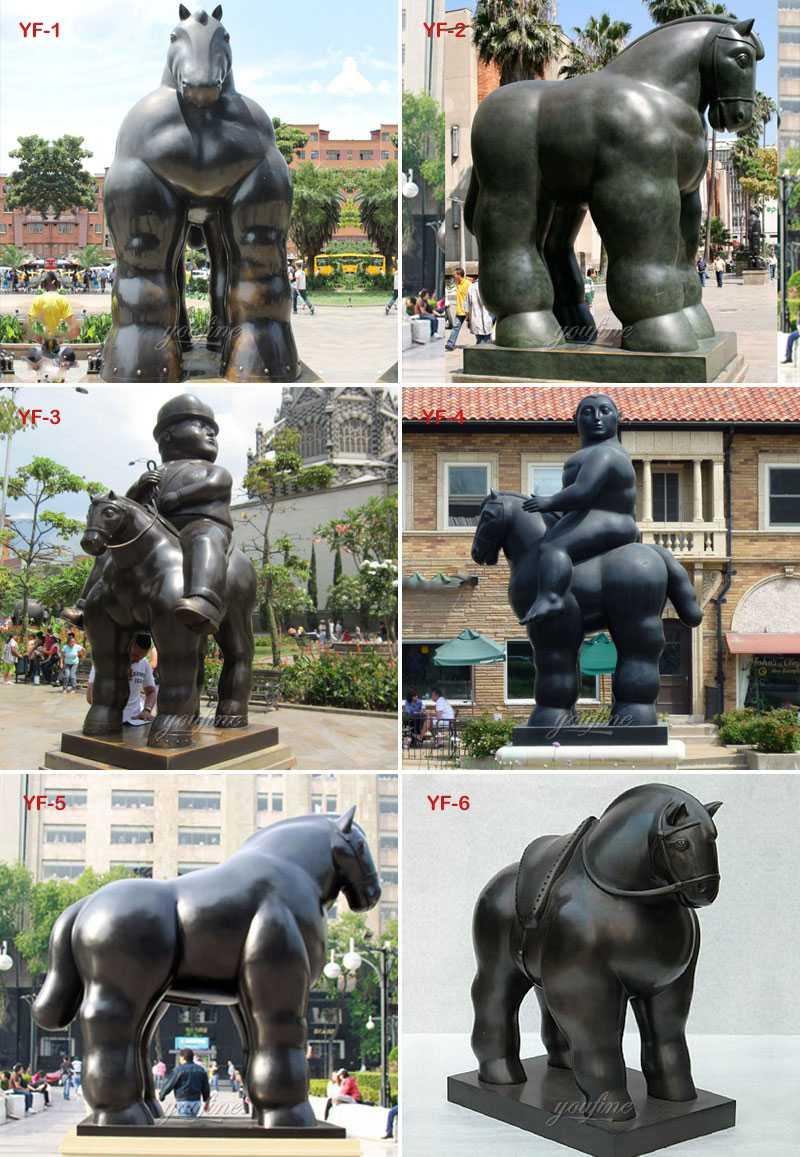 fernando botero sculpture designs