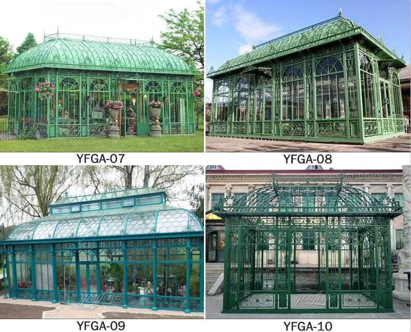 greenhouse design for spa for sale