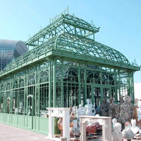 large greenhouse garden outdoor wrought iron gazebo designs for sale