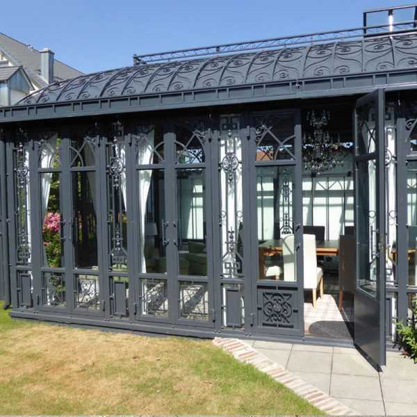 large outdoor cheap metal wrought iron gazebo for backyard for sale