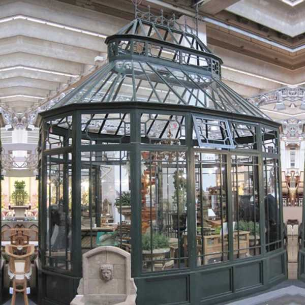 life size cheap outdoor small wrought iron gazebo for backyard for sale