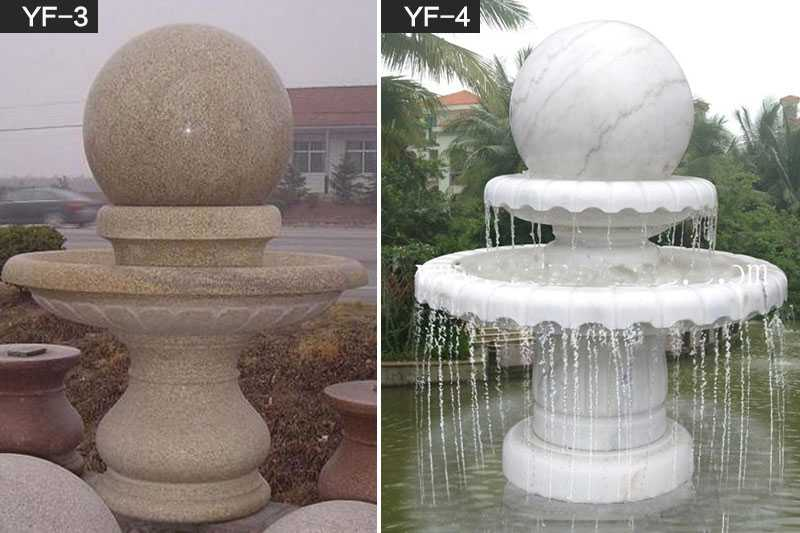 marble rolling fountain for sale