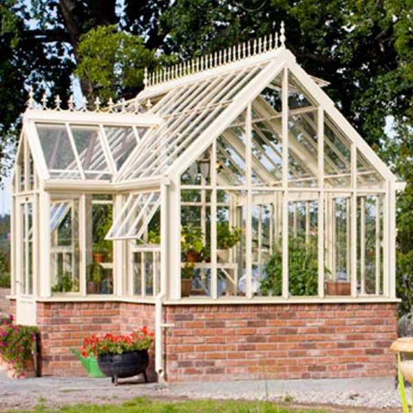 metal cheap custom made life size garden iron gazebo with glass for outdoor decor