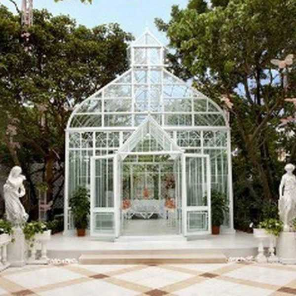 outdoor custom made the casting iron gazebo garden decor for sale
