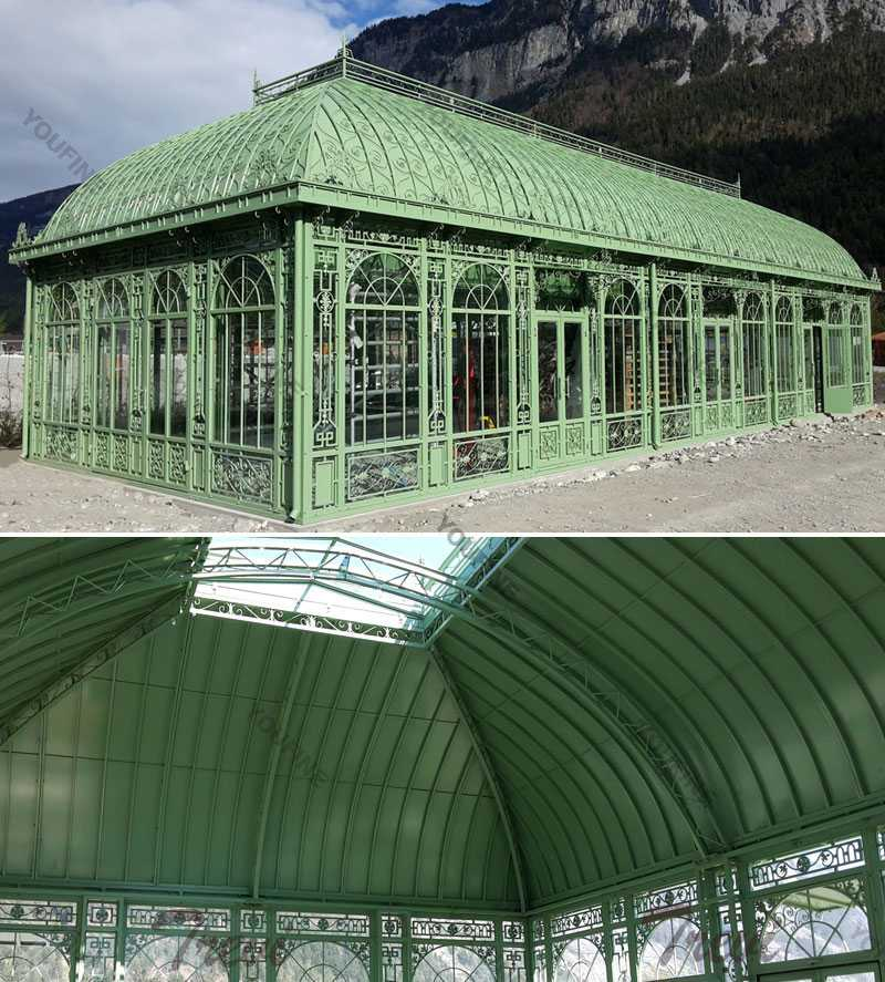 outdoor large wrought iron wedding gazebo designs on hot selling