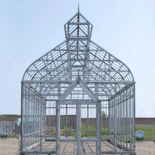 outdoor metal art custom made the casting iron gazebo garden decor for sale