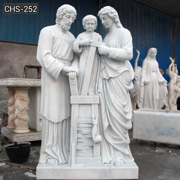 Large Outdoor Famous Holy Family Outside Statue Designs for Garden Decor
