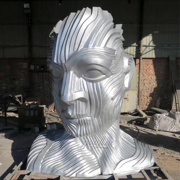 Buy large abstract metal art sculpture outdoor garden figure statue for sale CSS-05