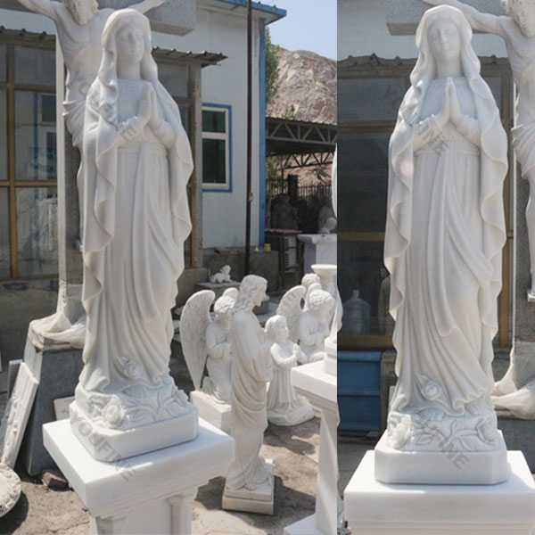 Catholic garden statues and decor blessed mother mary outdoor