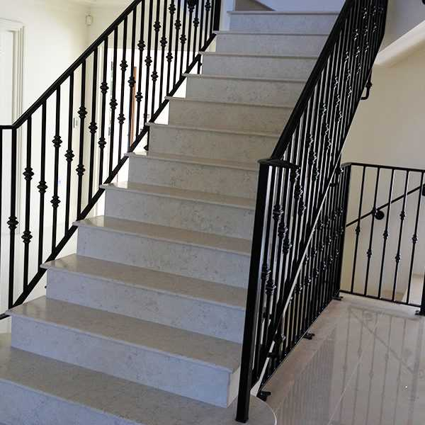 Contemporary metal art decorative wrought iron staircase for interior horse for sale--IOK-161