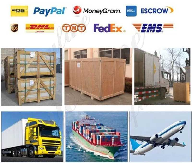 IOK-120 shipping of wrought driveway iron gate