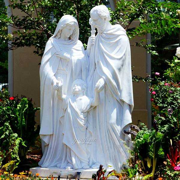 Large Outdoor Famous Holy Family Outside Statue Designs for Garden Decor for Sale