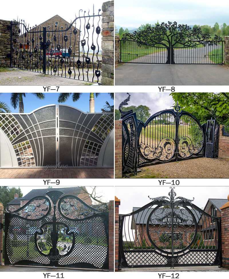 antique iron gate for sale