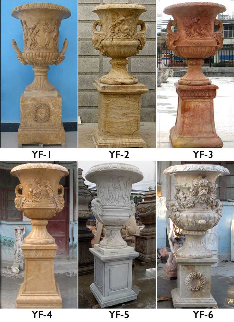 buy outdoor elegant easy tall unique designs with high basin for patio decor