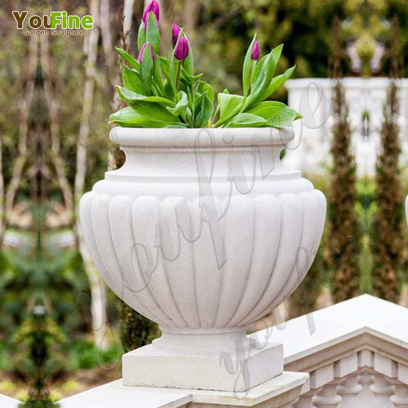 factory-supply-life-size-easy-designs-white-marble-garden-planter-with-flower-round-deep-basin-for-sale-on-discount