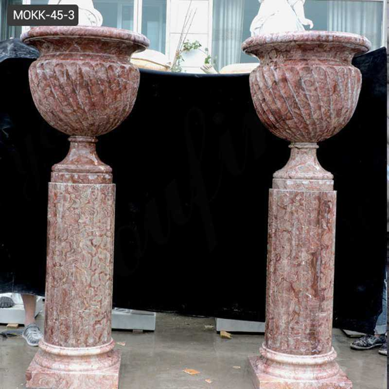 indoor or outdoor marble planter for sale