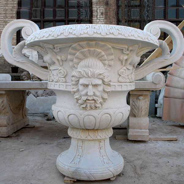 large outdoor flower pots with double ears garden pots and planters for sale