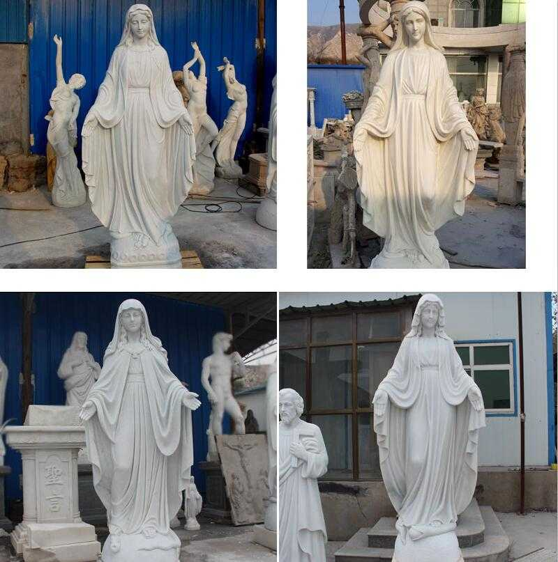 life size catholic statue our lady of marble virgin mary statue for sale