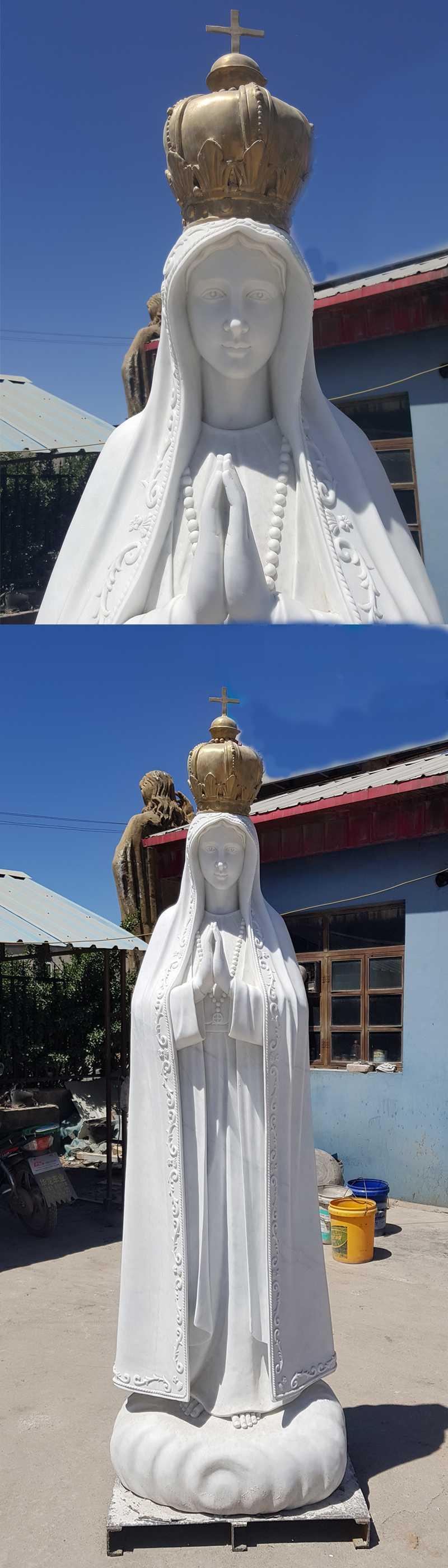 our lady of fatima pilgrim statue for sale