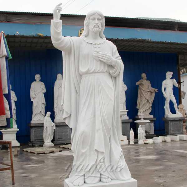 Large Catholic Statue Life Size Marble Famous Holy Family
