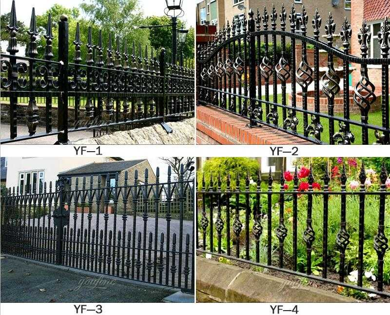 wholesale wrought iron fence panels for sale
